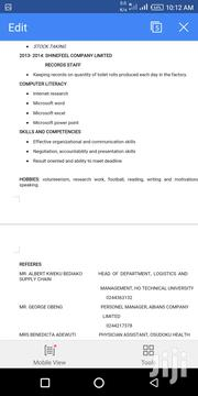 Office CV | Office CVs for sale in Greater Accra, Adenta Municipal