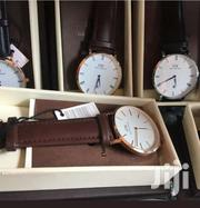Daniel Wellington Original Leather Watches Whatsapp Directly | Watches for sale in Greater Accra, East Legon (Okponglo)