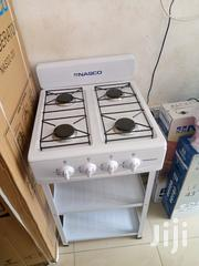 White Long Stand 50x50 Gas Stove | Kitchen Appliances for sale in Greater Accra, East Legon