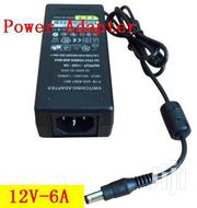 CCTV Camera Dc 12v-6a Switch Power Supply Adapter | Accessories & Supplies for Electronics for sale in Greater Accra, Teshie new Town