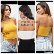 White Cropped Tank Tops | Clothing for sale in Greater Accra, Kwashieman