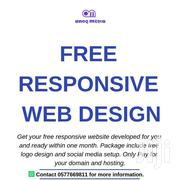 Free Responsive Website Design Offer   Automotive Services for sale in Greater Accra, Bubuashie