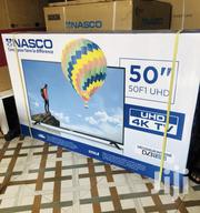 "New Nasco 50"" Uhd Smart 4K Digital Satellite LED 