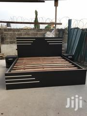 New Design Queen Size Beds With Side Drawers   Furniture for sale in Greater Accra, Abelemkpe