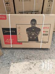 Slim Design TCL 49 Inch Smart Curved Satellite Led Television___ | TV & DVD Equipment for sale in Greater Accra, Adabraka