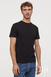 H&M Black Tshirts Round Neck | Clothing for sale in Greater Accra, North Kaneshie