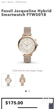 Fossil Jacqueline Hybrid Smartwatch FTW5018 | Smart Watches & Trackers for sale in Greater Accra, East Legon