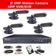 4CH 2MP AHD Special Hidden CCTV Camera Kit | Security & Surveillance for sale in Greater Accra, Teshie new Town