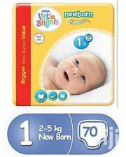 LITTLE ANGELS DIAPERS  SIZE 1, 70pcs Per Pack | Baby Care for sale in Greater Accra, Airport Residential Area