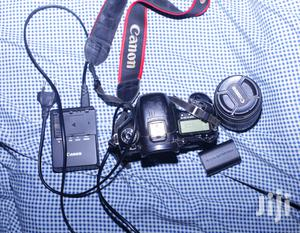 Canon 7D Camera With Lens and Battery