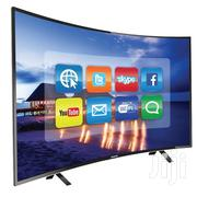 Nasco 55′′ 4K UHD Smart Digital Satellite Curve TV+Free Delivery | TV & DVD Equipment for sale in Greater Accra, Accra new Town