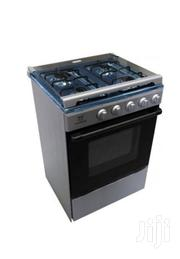 New Nasco 4 Burner Gas Cooker With Oven Black Stainless Steel | Restaurant & Catering Equipment for sale in Greater Accra, Accra Metropolitan