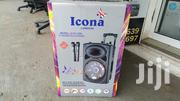 """Icona 12"""" Portable Trolley Speaker 