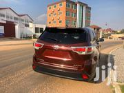 Toyota Highlander 2017 XLE 4x4 V6 (3.5L 6cyl 8A) Red   Cars for sale in Greater Accra, Ga South Municipal