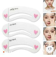 3 Pieces Re-usable Eyebrow Stencil | Makeup for sale in Eastern Region, Birim North