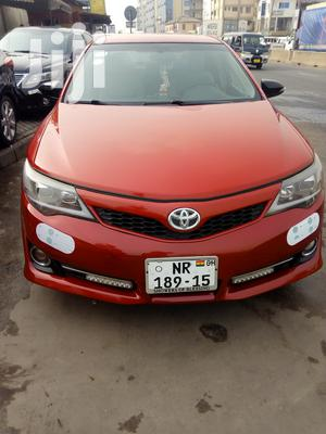Toyota Camry 2013 Red