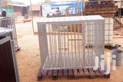 Heavy Duty Dog Cage Crate Kennel Steel For Large Dogs-anti Rust Coated | Pet's Accessories for sale in Greater Accra, Adenta Municipal