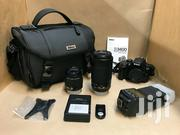 Nikon D3400 24.2MP Digital SLR Camera -Black With All Kit | Photo & Video Cameras for sale in Central Region, Agona West Municipal