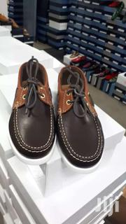 Brown Color Italian Leather Lace Moccasins | Shoes for sale in Greater Accra, Okponglo
