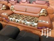 Quality Leather With Heavy Material Sofa Furniture | Furniture for sale in Ashanti, Kumasi Metropolitan