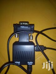 VGA To HDMI Converter With Audio | Accessories & Supplies for Electronics for sale in Greater Accra, Achimota