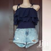 Top And Tarted Jeans Shorts | Clothing for sale in Greater Accra, Kwashieman