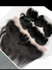 Mongolian Pixie Hair With Frontal | Hair Beauty for sale in Greater Accra, Nungua East