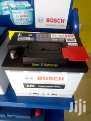 13 Plates Car Battery - Bosch Silver 12v55ah - Free Delivery - Fiesta   Vehicle Parts & Accessories for sale in Greater Accra, Roman Ridge