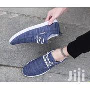 Low-Top Lace Up Sneakers - Blue/ White | Shoes for sale in Greater Accra, Achimota