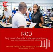 NGO And Operation Management Course | Classes & Courses for sale in Greater Accra, East Legon