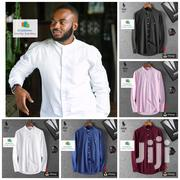 Chinese Neck Long Sleeves Shirts | Clothing for sale in Greater Accra, North Kaneshie