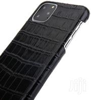 Genuine Leather Back Case For iPhone 11 Pro MAX Cover Alligator | Accessories for Mobile Phones & Tablets for sale in Greater Accra, Achimota