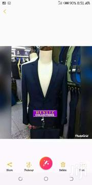 Blue Black Suit Size 50 | Clothing for sale in Greater Accra, Agbogbloshie