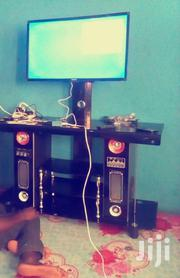 Glass Table,Tv Stand And Quality Sound Woofer | Furniture for sale in Greater Accra, Kotobabi