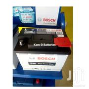 Brand New Bosch Car Batteries Silver 55ah + Free Delivery - Light | Vehicle Parts & Accessories for sale in Greater Accra, Odorkor