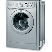 INDESIT 7kg Wash 5kg Dry Freestanding Washer Dryer - Silver | Home Appliances for sale in Greater Accra, Accra Metropolitan
