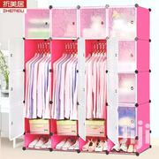 16 Cub Wardrobe With Shoe Rack | Furniture for sale in Greater Accra, Agbogbloshie