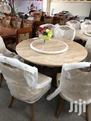 Acrylic Round Glass Dinning Room Set Table | Furniture for sale in Greater Accra, Ledzokuku-Krowor