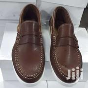 Brown Color Italian Leather Moccasin | Shoes for sale in Greater Accra, Okponglo