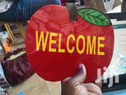 Welcome Open Signage In Apple Shape | Home Accessories for sale in Greater Accra, Roman Ridge
