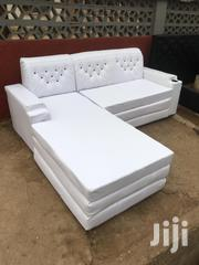 Lovely With L Shape Sofa At Affordable Price With Free Delivery. | Furniture for sale in Greater Accra, Cantonments