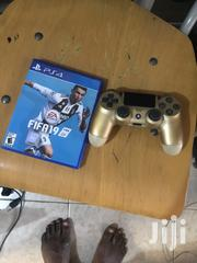Used Ps4 Game Controller And Fifa 19 | Video Games for sale in Greater Accra, Tesano