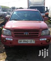 Toyota Highlander 2008 Limited 4x4 Red | Cars for sale in Greater Accra, Achimota