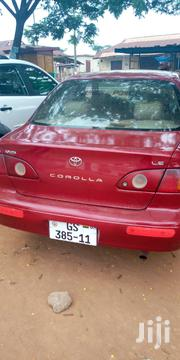 Toyota Corolla 2002 1.5 Sedan Automatic Red | Cars for sale in Central Region, Upper Denkyira East