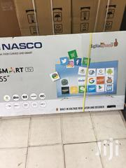 Nasco Satellite Curved Smart 4K UHD Tv 55 Inches | TV & DVD Equipment for sale in Greater Accra, Adabraka