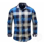 Cerrebelos Checkered Long Sleeve Shirt | Clothing for sale in Greater Accra, Tesano
