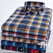 Cerrbelos Checkered Long Sleeve Shirt 5 Pack | Clothing for sale in Greater Accra, Tesano