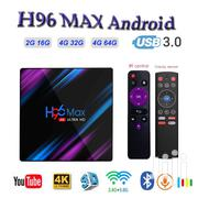 H96 Max Smart Android 9.0 TV Box | TV & DVD Equipment for sale in Greater Accra, Achimota