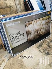 """SAMSUNG 55"""" Curve Smart UHD 4K Tv 