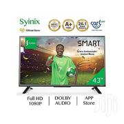 "Brand New Syinix 43"" Smart Android Digital T2 Led Tv With Dolby Audio 